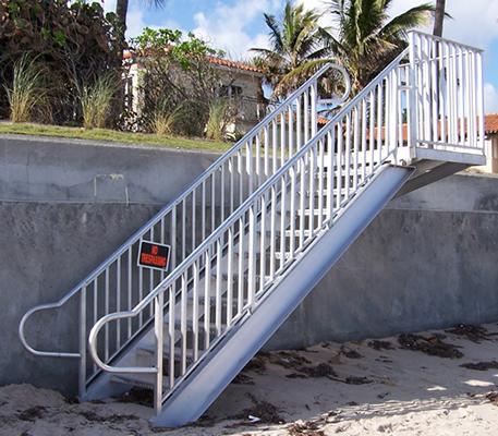 trellis-stairs